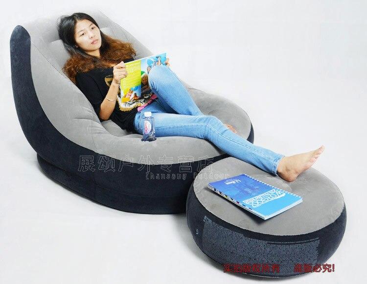 intex modern sofa set living room furniture air sofa bed size 90cm