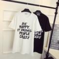 XL-4XL Mulheres Cartas de Impressão Plus Size T-shirt Dress Primavera Verão Feminino Moda Casual T Longo Tops Camisas Jersey Branco/preto