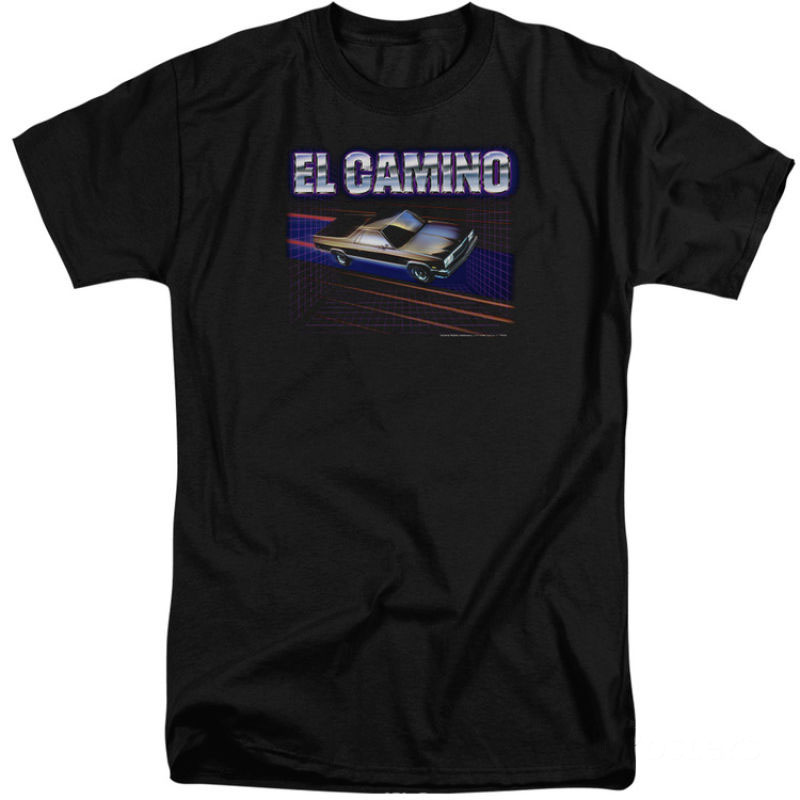 Black Discout Hot New Fashion T Shirt Top Free Shipping 2018 Officia To Have A Unique National Style El Camino Dash Apparel T-shirt The Best Chevy