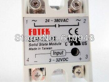 FOTEK SSR-25DA Manufacturer 25A ssr relay,input 3-32VDC output 24-380VAC