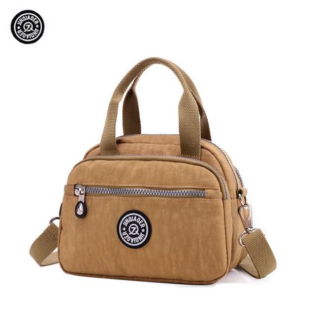 JINQIAOER Fashion Women Shoulder Bags Soft Waterproof Nylon Quality Kip  Style Monkey Handbag 023dd7e244