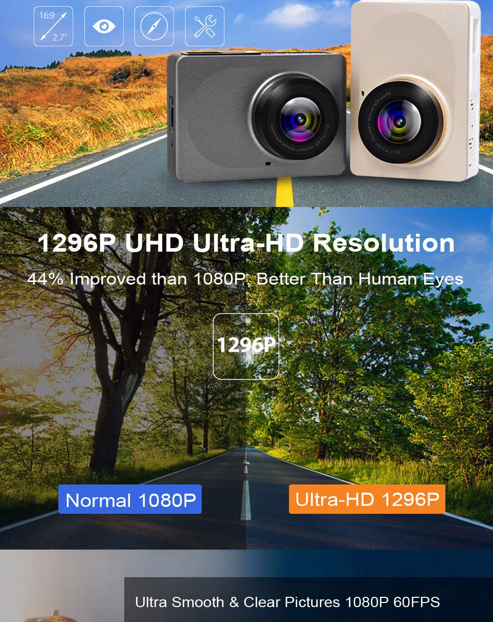 Xiaomi YI Smart Dashcam Car DVR (2)