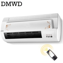 DMWD Warm Cool dual use Air Blower Electric heater fan bathroom wall hanging Warmer Ceramic Thermal heating Radiator conditioner