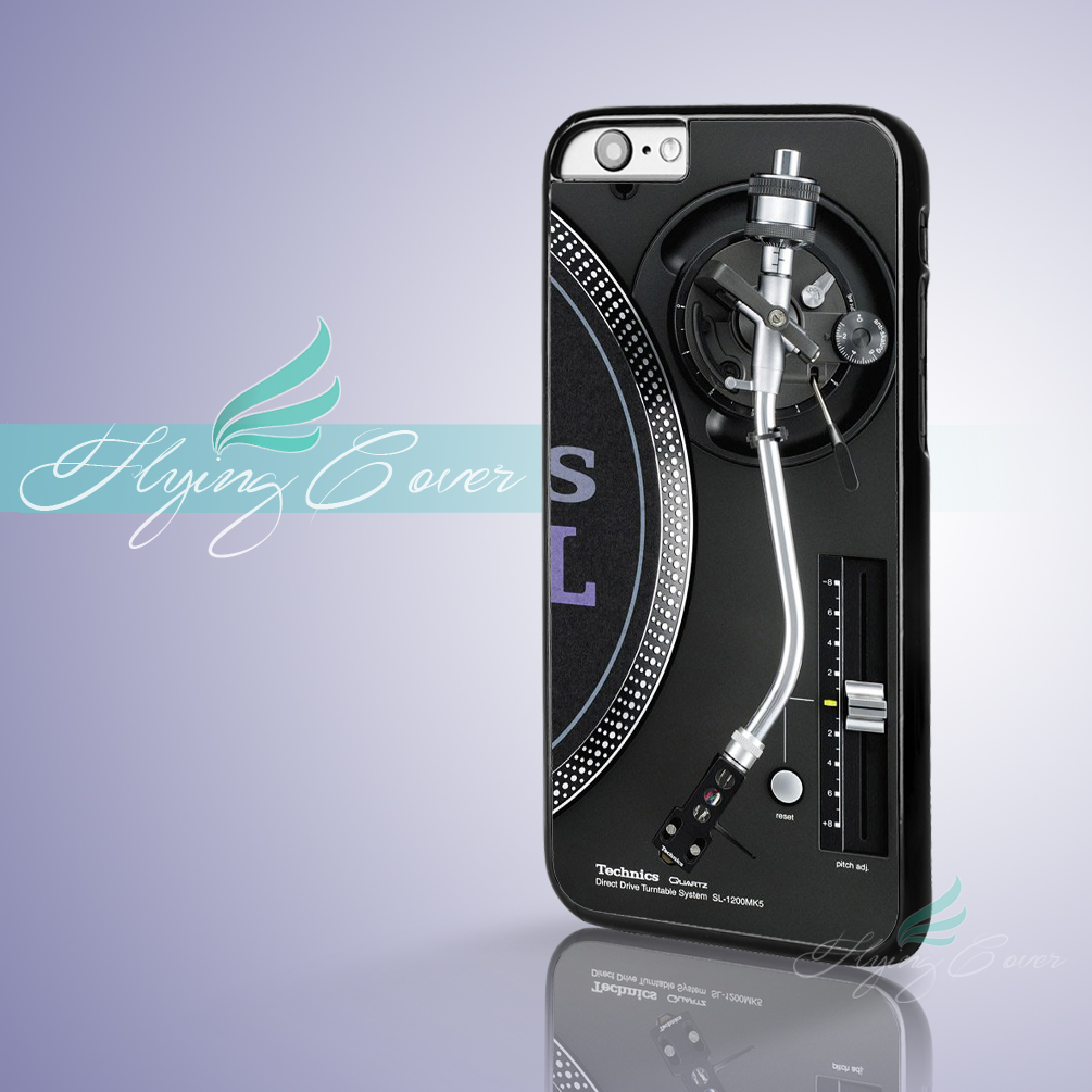 Coque Turntables DJ Mixer Fundas Phone Cases for iPhone X 8 8Plus 7 6 6S 7 Plus 5S SE 5C 5 4S 4 Case for iPod Touch 6 5 Cover.