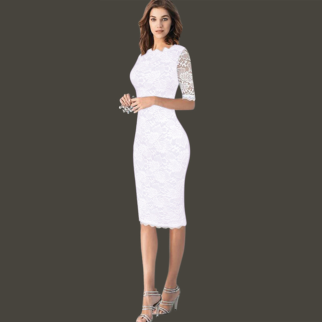Berydress Work Wear Formal Dress Knee Length Black Vestidos Summer