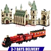 DHL LEPIN 16030 1340pcs Hogwart S Castle LEPIN 16031 Hogwarts Express Train Set Building Blocks Clone