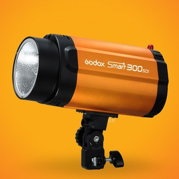 New Real Output 300W Godox Smart 300SDI Strobe Flash Studio Light Lamp Head 220V image