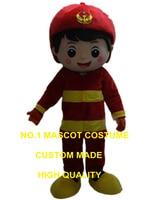 Рыжий мальчик талисмана Пользовательские Герой мультфильма Косплей Взрослый размер карнавальный костюм 3108