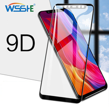 где купить 9D Edge Protective Glass on for Xiaomi Mi a1 8 Lite Glass redmi 2 s2 lite Glass Screen Protector Mi Pro SE 8 5 note 5 7 Film по лучшей цене