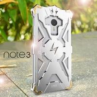Luxury For Meizu Meilan Note 3 Back Cover Simon THOR IRONMAN Shockproof Metal Aluminium Frame Anti