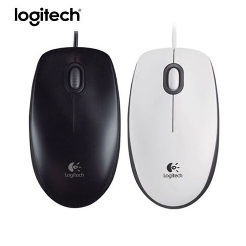 Logitech M100R Wired Optical Gaming Mouse USB 1000DPI Ergonomic Computer Mice