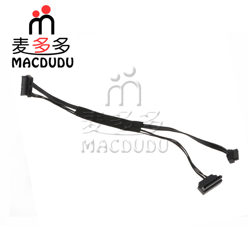 New SSD Hard Disk Drive SATA Data Power Cable for iMac 27