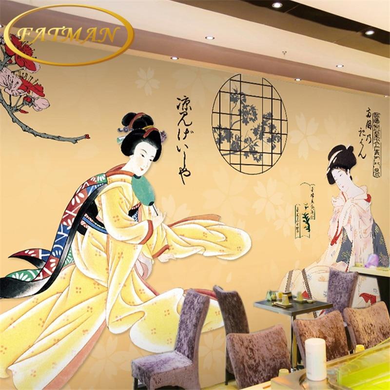 Custom photo wallpaper custom 3D stereo Japanese ladies mural wallpaper sushi store Club corridor porch wallpaper huwaijianfeng 50l outdoor sport traveling climbing backpack multifunctional hiking bag
