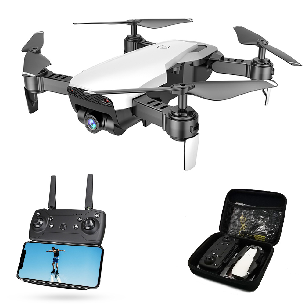 Global Drone FPV Selfie Dron Foldable Drone with Camera HD Wide Angle Live Video Wifi RC Quadcopter Quadrocopter VS X12 E58