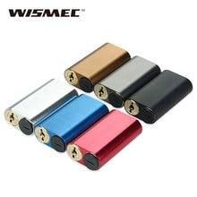 100% Оригинал WISMEC Noisy Крикет 18650 Коробка МОД питается от Двух 18650 Батареи Электронной Сигареты Mod без Батареи 510 нить