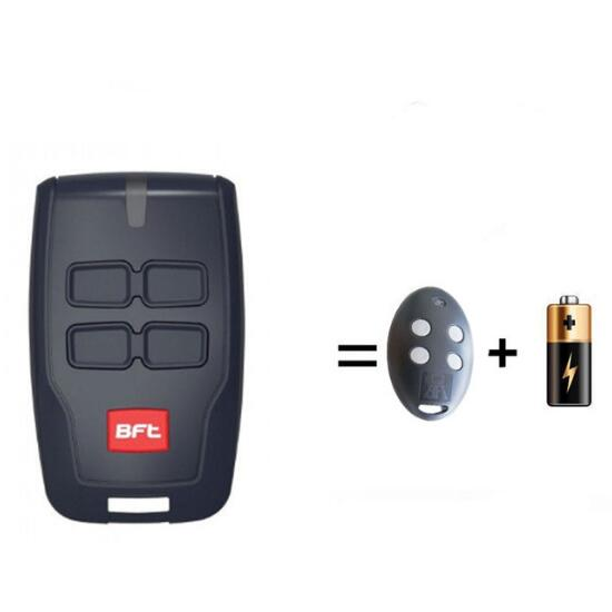 For BFT MITTO B RCB04 Gate door Opener Hand Remote Control Rolling Code 433.92MHz bft mitto 02 04 rcb02 rcb04 garage door opener remote control replacement 433mhz rolling code