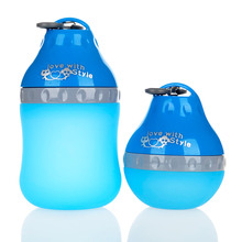 Pet Supplies Cat Dog Water Drinker Fountains Water Drop Silicone Candy Colors