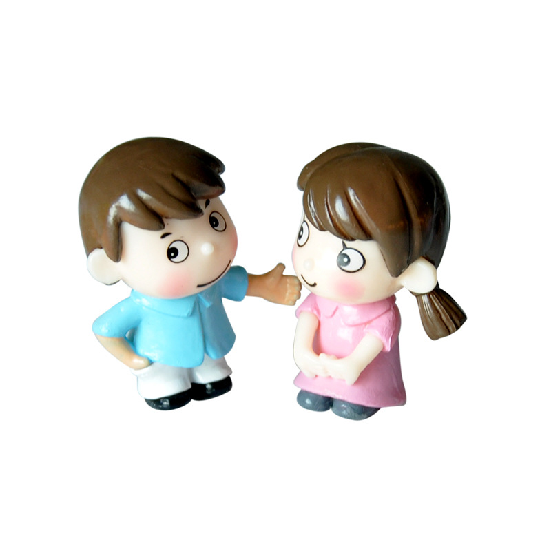 NEW DIY doll house accessories So Lovely couples dolls are suitable for All DIY dollhouse Decora for childrens birthday gifts