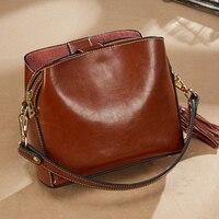 Genuine Leather Bags Designer Handbags Women Shoulder Bag Women Menssenger Bag Tote Bolsas Feminina Famous Brand