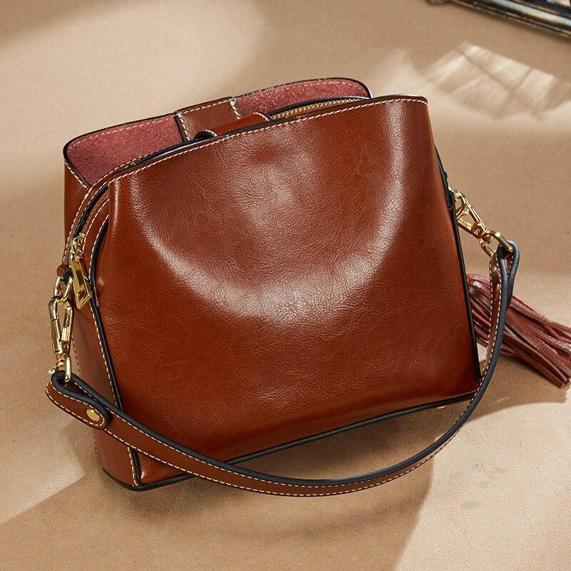 Sacs en cuir véritable sacs à main Designer femmes épaule bandoulière sacs femmes Menssenger sac fourre-tout Bolsas Feminina célèbre marque