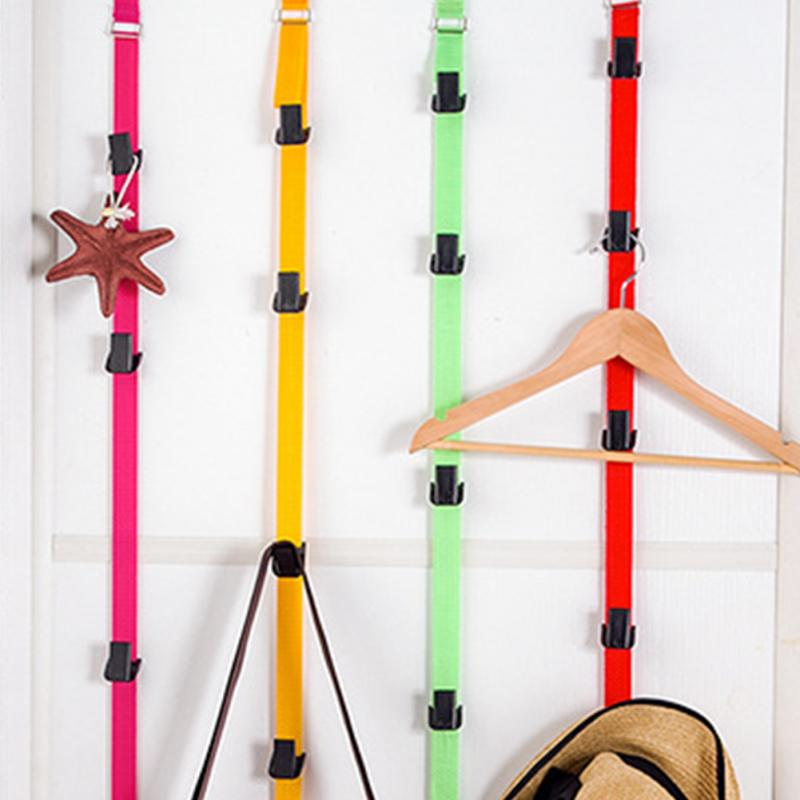 10KG Load-bearing Multifunction Door Back Hook Baseball Cap Clothes Holder Rack Bath Kitchen Organizer Storage Closet Hanger