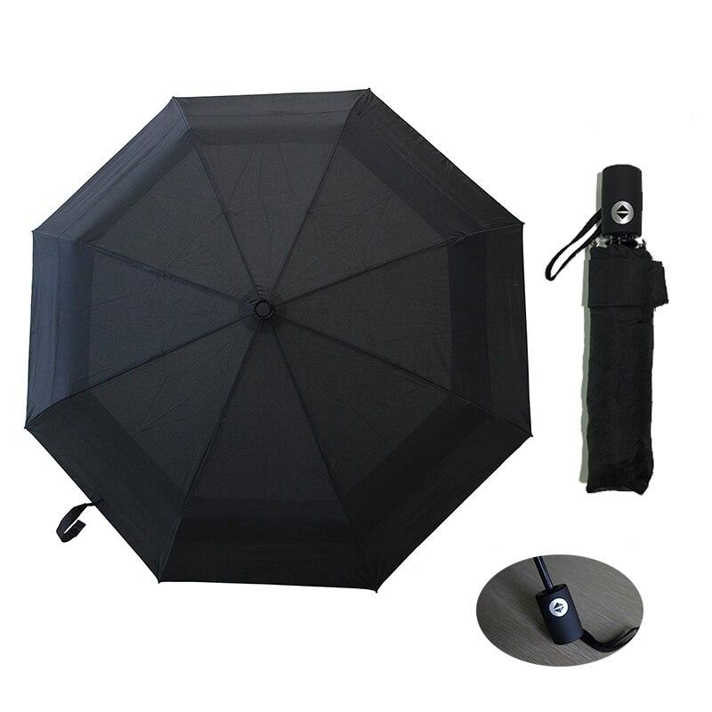 2f3f2fad8f16 Fully Automatic Double Layber Umbrella Rain Women Folding Portable ...