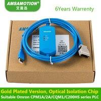 Geschikt Omron Plc-programmering Kabel Communicatie CPM1A/2A/CQM1 Data Downloaden lijn USB-CIF02 +