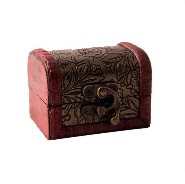 New Vintage Jewelry Box Jewellery Organizer Storage Case Mini