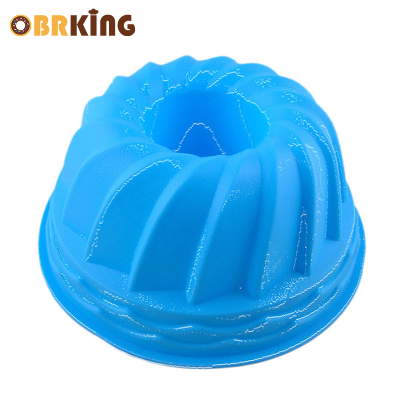 OBRKING Silicone Pumpkin Cake Mold 3d Bread Mousse Mold For Baking Tools Cake Plate Toast Pan Cake Bakeware Mould Kitchen Tools image
