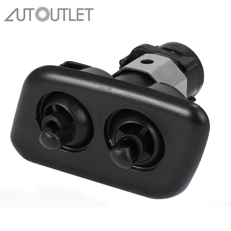 AUTOUTLET 61678360661 Left Headlight Washer Nozzles For BMW E39 525i 2001-2003 E39 528i 1997-2000 E39 540i 1997-2003 61678360661