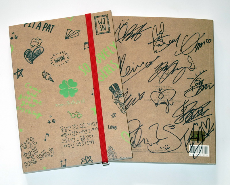 WJSN autographié signé mini 3rd album de CD + photobook + affiche signée nouvelle version coréenne 01.2017