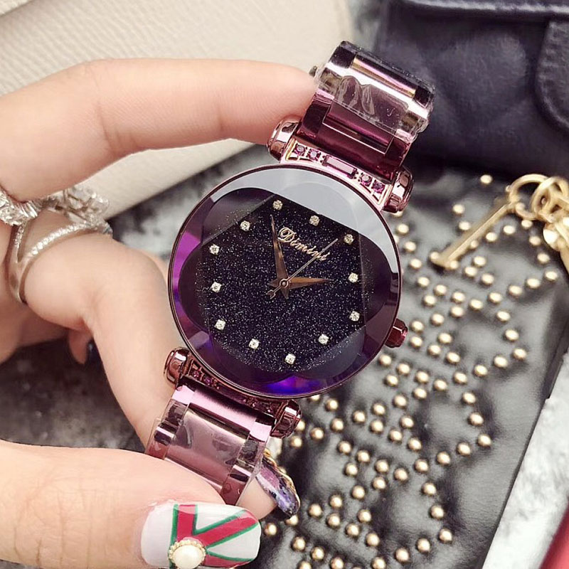 New Brand Women Stainless Steel Watch Ladies Crystal Bright Star Bracelet Watches Dress WristWatch Montre Femme reloj mujer 2018 dolce gabbana dolce rosa excelsa туалетные духи 30 мл