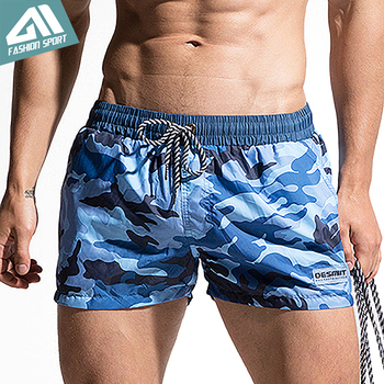 Desmiit Fast Dry Men's Board Shorts Summer Camouflage Beach Surfing Man Swimming Shorts Athletic Sport Running Gym Shorts AM2030 3
