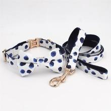 Цветочный ошейник для собак галстук-бабочка с металлической пряжкой большой и маленький собака и кошка аксессуары для ошейника питомца