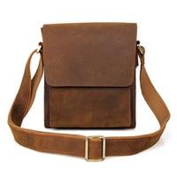 Из натуральной кожи Для мужчин мужская сумка из натуральной коровьей кожи Для мужчин сумка Sling Bag
