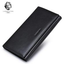 LAORENTOU2017 luxury fashion high-end leather casual men's hand bag wallet brand-name products 100% high-quality well-known bran