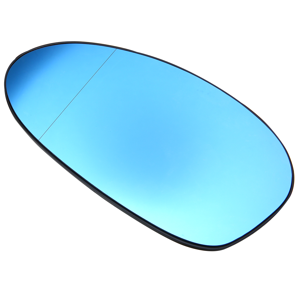 For BMW E82 E90 E91 E92 E46 1Pair Wide Angle Door Mirror Glass Heated Blue Tinted Wing Door Mirror Glasses Mayitr