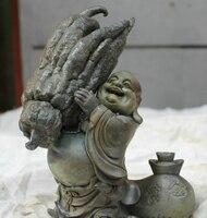 Eski Tibet Budizmi Tapınağı HandMade bronz heykeli Mor Bakır Maitreya Buda buddha statue pictures buddha bodhibuddha stone statues -