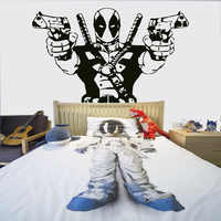 Deadpool Marvel Superhero Action Hero Children's Decal Wall Art Sticker Picture SZ-9