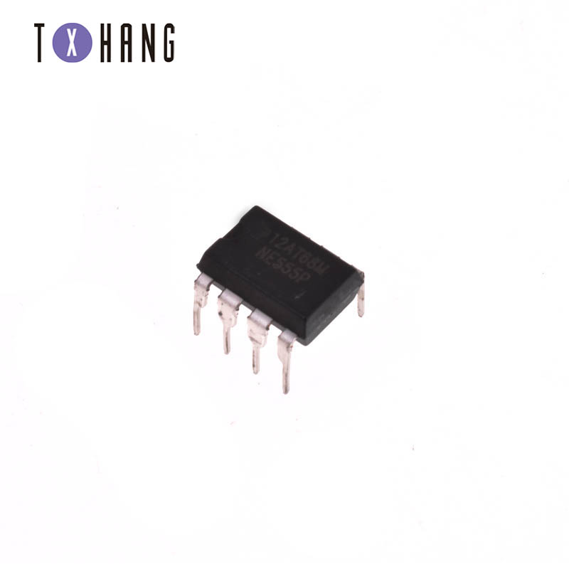 New 50PCS NE555P NE555 DIP-8 SINGLE BIPOLAR TIMERS IC TOP Quality