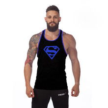 New Mens Stringer Bodybuilding Tank Top Brand Clothing Professional Train Fitness Wicking Vest Men Wicking Sportwear Tops Shirt