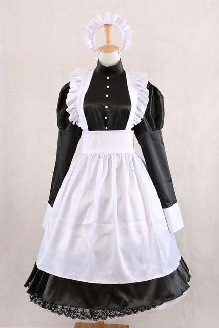 Aliexpress Buy Sissy Maid Black Dress Gothic Lolita Dresses