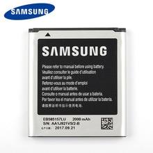 цена на Original Samsung EB585157LU Battery For Samsung GALAXY Beam SM-G130HN J2 i8530 i8558 i8550 i8552 i437 G3589 i869 Win 2000mA