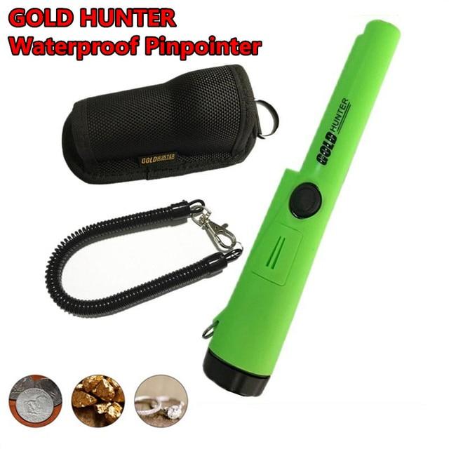 Metal Detector High Sensitive Handheld Detectors Metal Scanner Finder Seeking GoldHunter Pointer Pinpointing Wide Range Detector