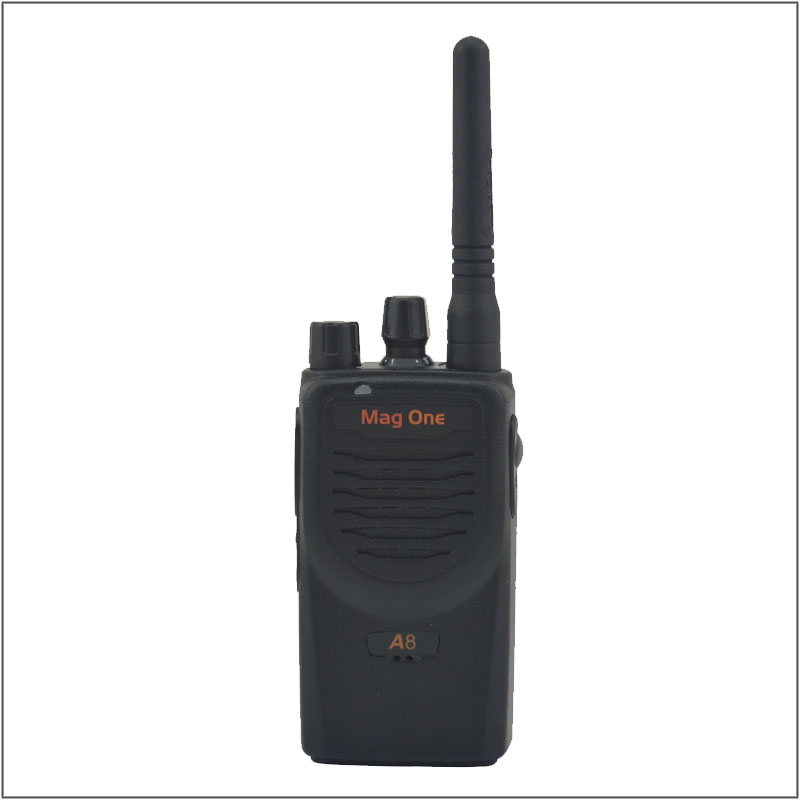 Walkie Talkie Mag One A8 VHF 150-174MHz 5W Portable Two-Way Radio Handle Interphone Ham CB Radio Transceiver