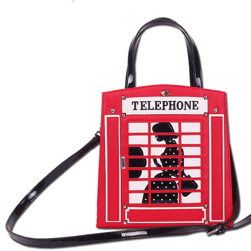 11x27CM  2017 Winter Italy, The New Creative Stitching British Telephone Booth Handbag Shoulder Messenger Bags  A2768 2017 new summer breathable men casual shoes autumn fashion men trainers shoes men s lace up zapatillas deportivas 36 45