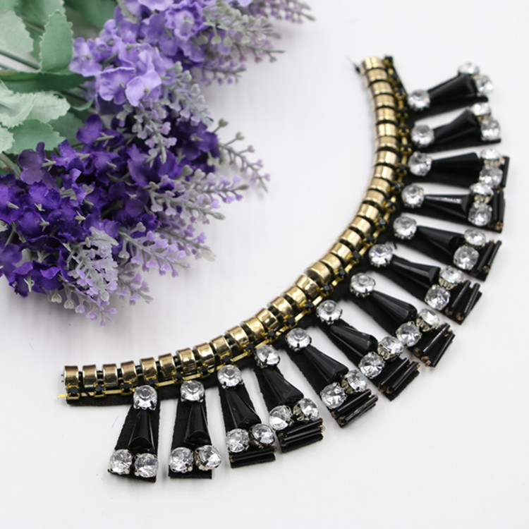 Manufacturers Wholesale Fashion Handmade String Clothing Accessories Collar New DIY Collar