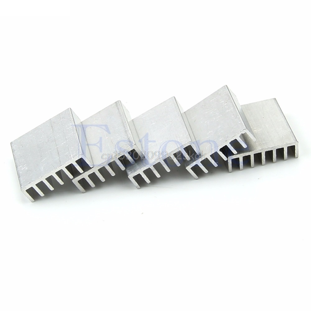 5pcs  20*20*6mm High Quality Aluminum Heat Sink for LED Power Memory Chip IC DIY #H029# цена 2017
