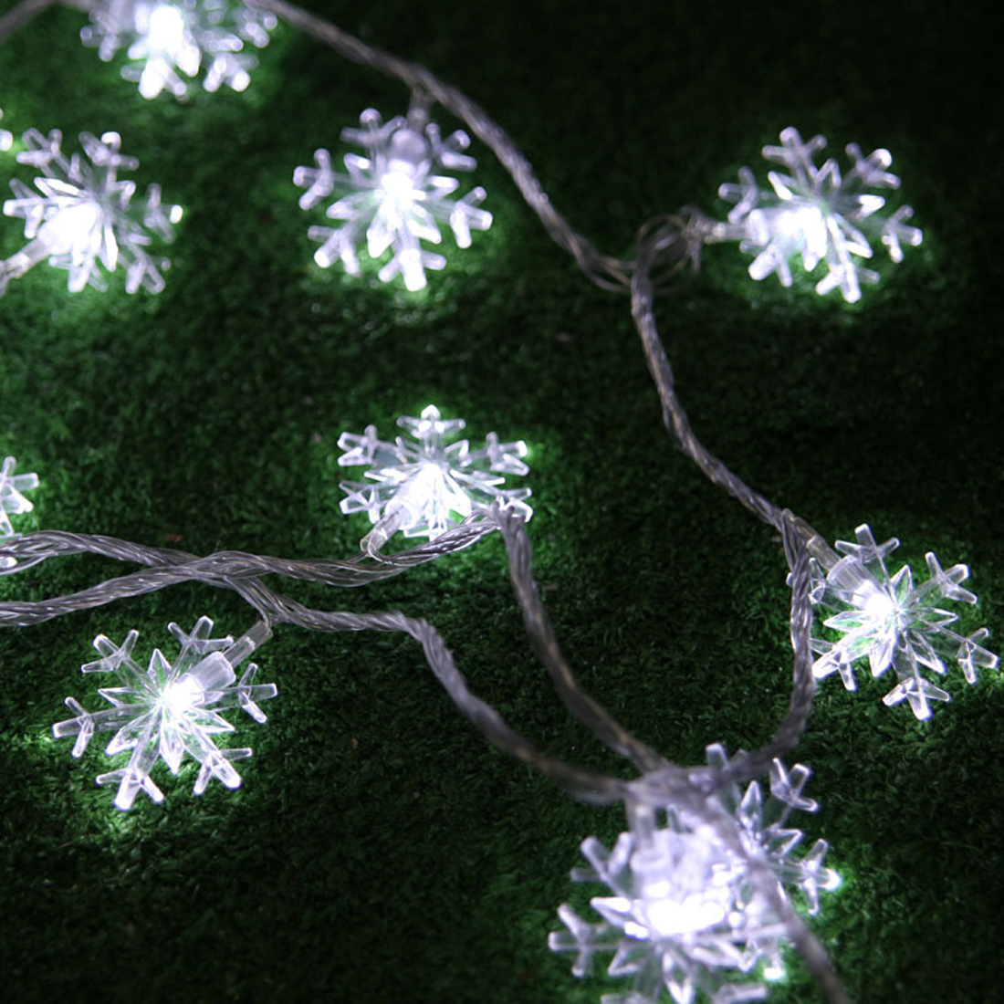 New Lights Outdoor 10m 100LED String Lights Garden Light for Home Wedding Party Decoration EU Plug