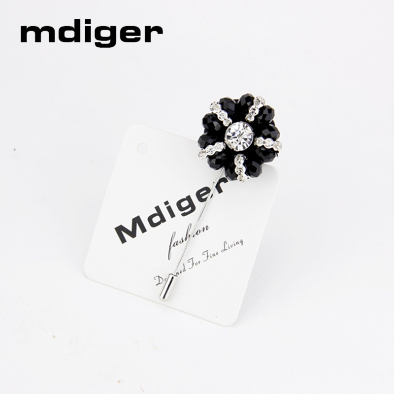 Mdiger Fashion Daisy Flower Lapel Pins Боялған Көктем - Сәндік зергерлік бұйымдар - фото 5